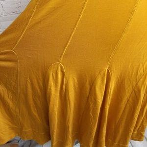 Anthropologie Dresses - Anthropology Maeve mustard dress size S